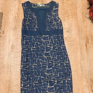 Boden notch neck shift dress 6R